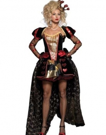 Gorgeous Wonderland Queen Costume