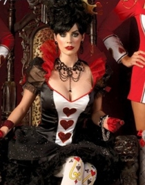 Noble Poker Queen Costume