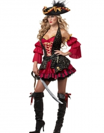 Sexy Off Shoulder Pirate Costume