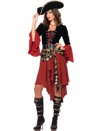 Dress And Hat Pirates Of The Caribbean Film Role Cosplay