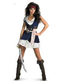 Women Pirates Of The Caribbean Costume Female Fancy Dress